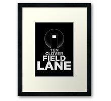 10 Cloverfield Lane Framed Print