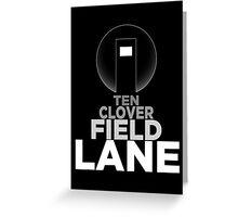 10 Cloverfield Lane Greeting Card