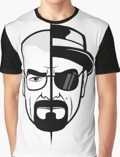 Mr. White - black and white Graphic T-Shirt