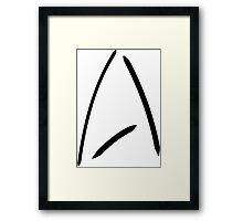 Star Trek Enterprise Framed Print