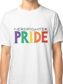 Nerdfighter PRIDE Rainbow Design Classic T-Shirt