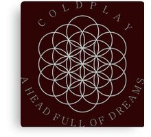 COLDPLAY A HEAD FULL OF DREAMS Canvas Print