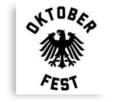 Oktoberfest Volksfest Celebration Canvas Print