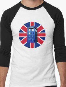 Tardis British Men's Baseball ¾ T-Shirt