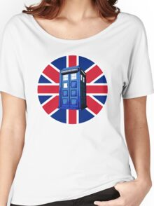 Tardis British Women's Relaxed Fit T-Shirt
