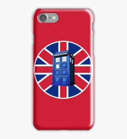 Tardis British iPhone Case/Skin