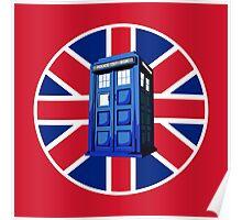 Tardis British Poster