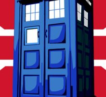 Tardis British Sticker