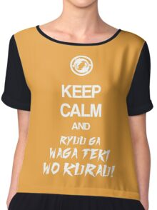 Keep calm and ryuu ga waga teki wo kurau! - Overwatch Chiffon Top