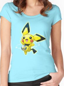 PIKA GO GO GO Women's Fitted Scoop T-Shirt