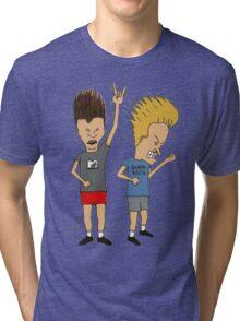 Beavis & Butthead Tri-blend T-Shirt