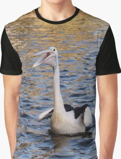 Mr & Mrs Pelican Graphic T-Shirt