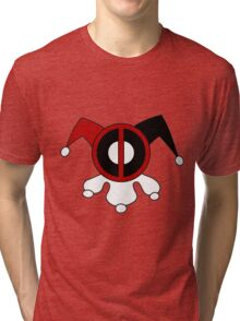 DeadPool Harley Quin Tri-blend T-Shirt