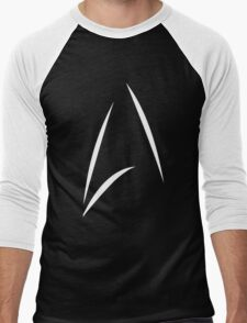STAR TREK BEYOND - KIRK'S CUP LOGO (BLACK) Men's Baseball ¾ T-Shirt