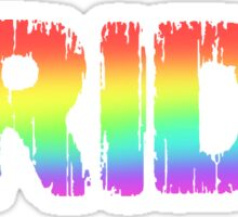 Pride - Gay Sticker