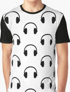 Headphones Graphic T-Shirt