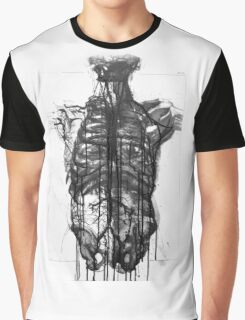 Skeleton X-Ray Graphic T-Shirt