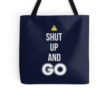 Shut Up And GO - Cool Gamer T shirt Tote Bag
