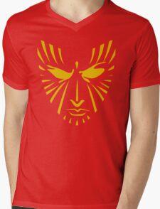 Rachel Summers (Gold on Red) Mens V-Neck T-Shirt