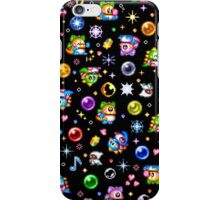 Bubble Bobble - Black iPhone Case/Skin