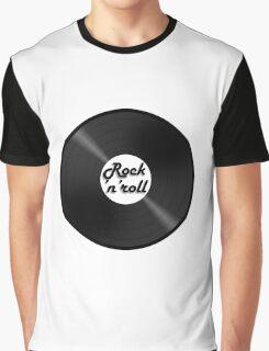 vinyl rock n roll Graphic T-Shirt