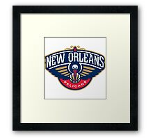 New Orleans Pelicans Framed Print