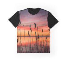 Dawn On Fire | Orient, New York Graphic T-Shirt