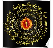 Lord Of The Ring Sauron eye Poster