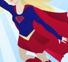 Girl of Steel Sticker