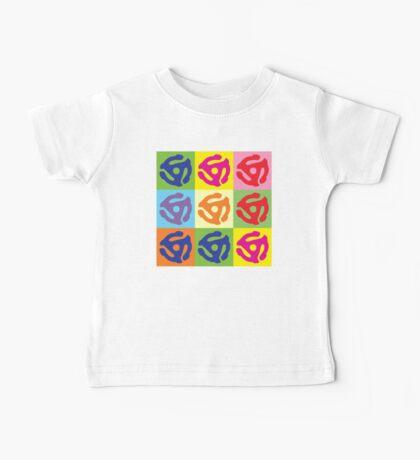 45 Record Holder Pop Art T-Shirt Baby Tee