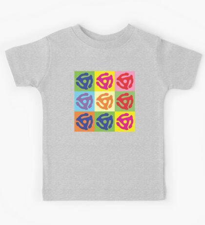 45 Record Holder Pop Art T-Shirt Kids Tee