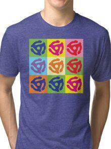 45 Record Holder Pop Art T-Shirt Tri-blend T-Shirt