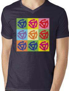 45 Record Holder Pop Art T-Shirt Mens V-Neck T-Shirt