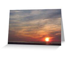 'Turner' Sunset Greeting Card