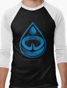 Water Bender Men's Baseball ¾ T-Shirt