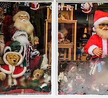 Window Shopping at Christmas by Heidi Stewart