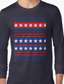 Stars and Stripe Long Sleeve T-Shirt