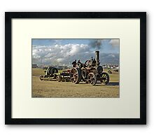 "Fowler 6nhp General Purpose Engine No.21647 ""Kinsale"" Framed Print"