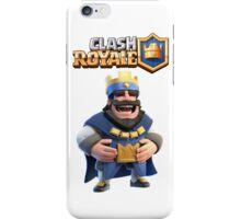 clash royale king iPhone Case/Skin
