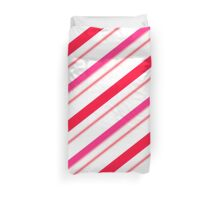 candy cane Duvet Cover