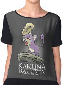 Kakuna Rattata Chiffon Top