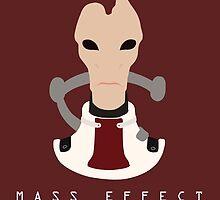 Mass Effect Mordin Solus Minimalist by quidvis