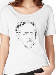 Alan Watts Appleated Women's Relaxed Fit T-Shirt
