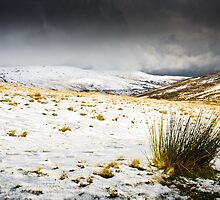 Snow in the Brecon Beacons by Heidi Stewart