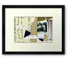 The Document Framed Print