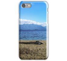 Lake Manapouri, Fiordland, New Zealand iPhone Case/Skin