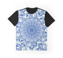 Mandala - Portuguese tile Graphic T-Shirt
