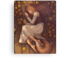 Spice And Wolf Canvas Print