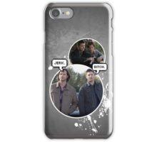 Sam and Dean - Supernatural iPhone Case/Skin