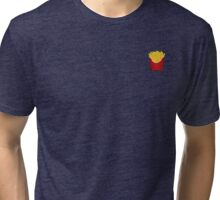 I <3 fries Tri-blend T-Shirt